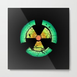 Nuclear Metal Print