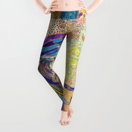 Feathery Dreams Leggings