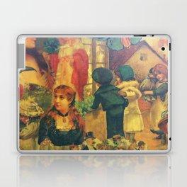 Decoupage Ladies, Gentlemen and Children Laptop & iPad Skin