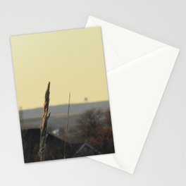 in the still of autumn Stationery Cards