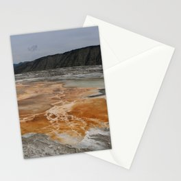 Mammoth Hot Spring Colors Stationery Cards