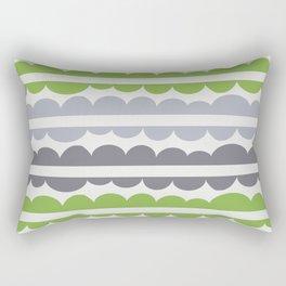 Mordidas Greenery Rectangular Pillow