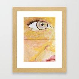Unorthodox Radiance Framed Art Print
