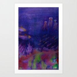 Deep Sea Art Print