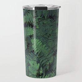 Fern Leaf Pattern Travel Mug