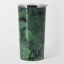 Fern Leaf Pattern Travel Mug