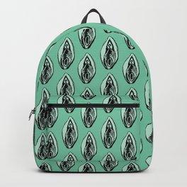 Vulves bleues - Blues vulvas Backpack