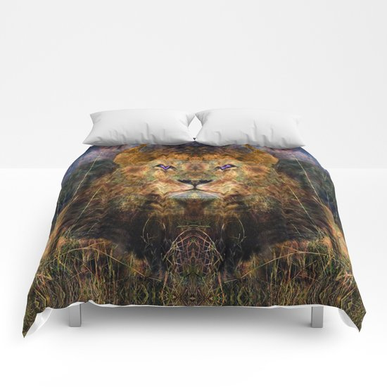 Pacific Lion Comforters