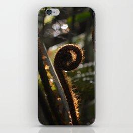 Unfurling iPhone Skin