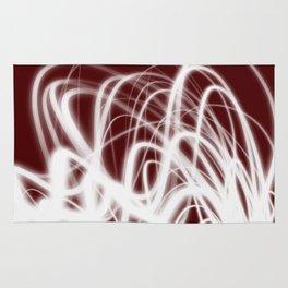 Red Flow2 Rug