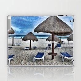 Blue beach Laptop & iPad Skin