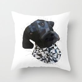 German Short Haired Pointer Throw Pillow