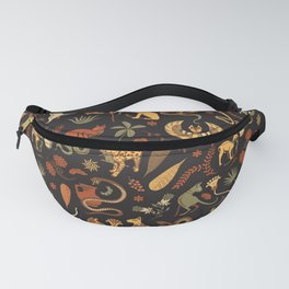 Egyptian house guardians | black Fanny Pack
