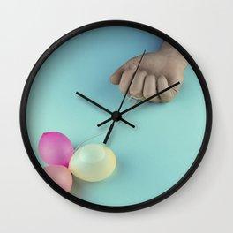 Emotional letdown Wall Clock