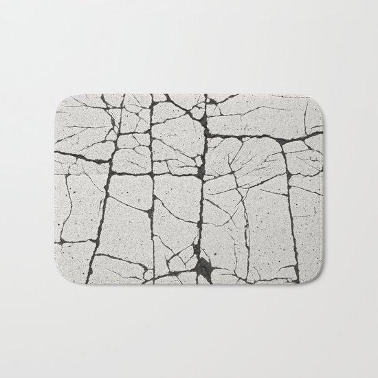 Cracked Crossing Bath Mat