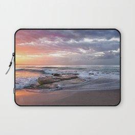 Beautiful Beach Sunset Laptop Sleeve