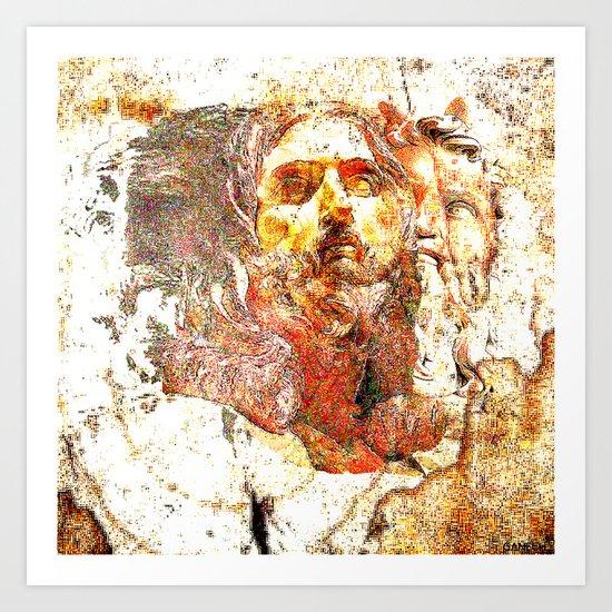 Transfiguration of Christ  Art Print