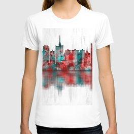 Lagos Nigeria Skyline T-shirt
