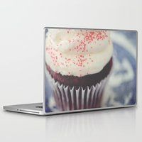 cupcake Laptop & iPad Skins featuring cupcake by Beverly LeFevre