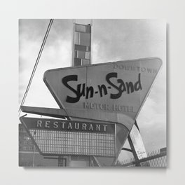 Sun-n-Sand Metal Print