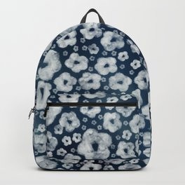 Mood indigo ditsy floral Backpack