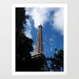 Eiffel Tower 1 Art Print