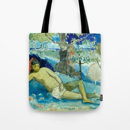 "Paul Gauguin ""Te arii vahine (The Queen of Beauty or The Noble Queen)"" Tote Bag"