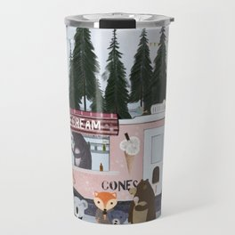 ice cream time Travel Mug