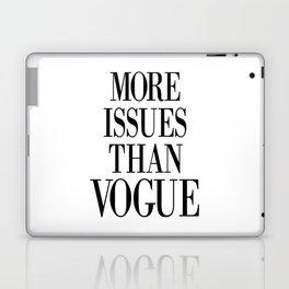 fashion quote, home decor Laptop & iPad Skin