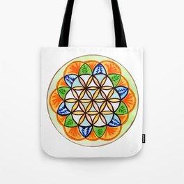 Celebrate Life Mandala Tote Bag