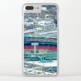 Fenway Boston Park Clear iPhone Case