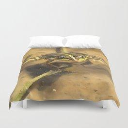 Marsh Frog Duvet Cover