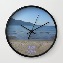 Beach Therapy Wall Clock