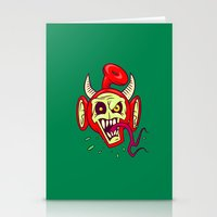 evil dead Stationery Cards featuring Evil Dead Po by Artistic Dyslexia