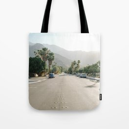 Palm Springs Road Tote Bag