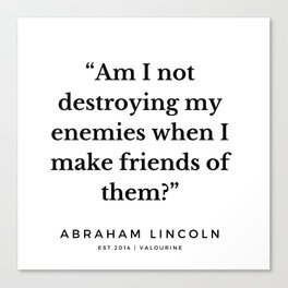 18  | Abraham Lincoln Quotes | 190913 Canvas Print