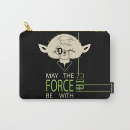 Starwars Yoda - May The Force Be With U Carry-All Pouch