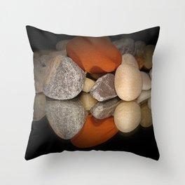 Steine Throw Pillow