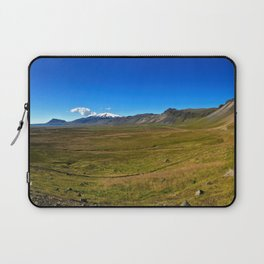 Roadside Vew of Snæfellsjökull Glacier in West Iceland (2) Laptop Sleeve