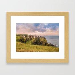 The old castle Framed Art Print