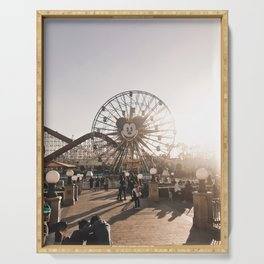 Anaheim California Ferris Wheel Ride Serving Tray