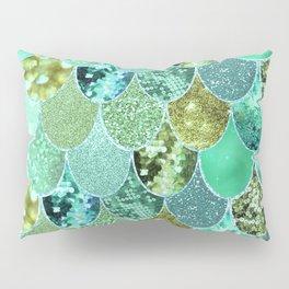 Mermaid Skin Shimmer Pillow Sham