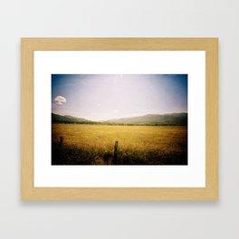 In the Cove Framed Art Print