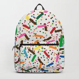 Rainbow Sprinkles on Vanilla Ice Cream Backpack