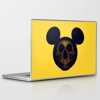 mickey Laptop & iPad Skins featuring Mickey by nicebleed