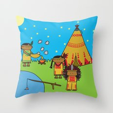 Indians Throw Pillow