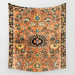 Sarouk Poshti Vintage Persian Rug Print Wall Tapestry