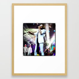 Jared Leto - Jimmy Kimmel Live Framed Art Print