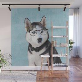 Mr Husky Wall Mural