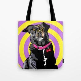 Hypno Doggie Tote Bag
